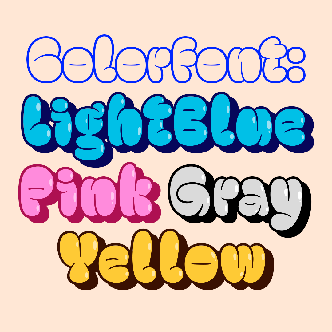 Throwup Font